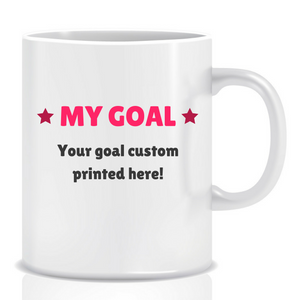 Small Steps Every Day | Personalised Mug | Inspirational Mug | Goal Mug