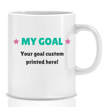 Load image into Gallery viewer, Risk nothing - personalised mug - goal mug - inspirational mug - motivational mug - whattamug!