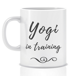 Yogi In Training | Personalised Mug | Inspirational Mug | Goal Mug