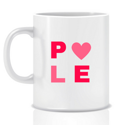 Pole fit - hotpants pink - personalised mug - goal mug - inspirational mug - motivational mug - whattamug!