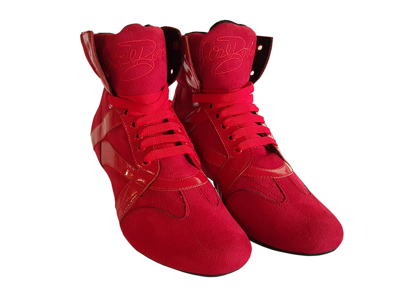 Red Dance Boots