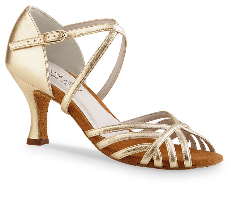 Anna Kern 598 - 60 Nappa Gold - Werner Kern - Dance Shoes