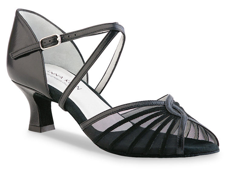 624-50 Nappa Black, Dance Shoes, Werner Kern - Cupidanza