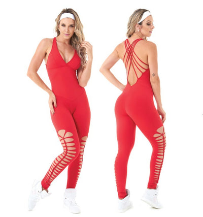 Jumpsuit LA Red