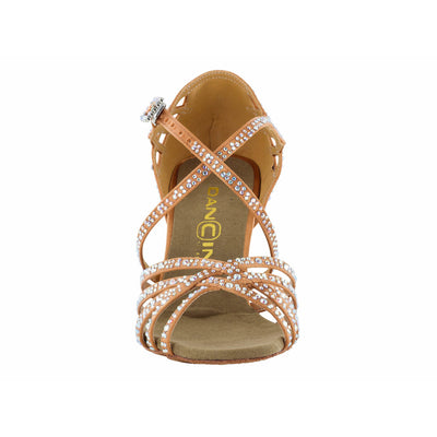 Dancin 5 Crossed Bands Tan Limited Edition - Dancin - Dance Shoes