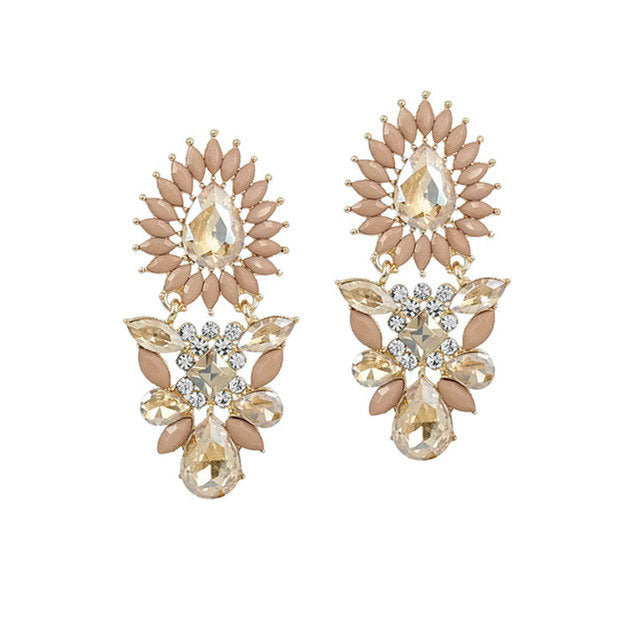 Allure Earrings Clarissa Pink - Allure Accessoires - Accessories Earrings