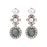 Earrings Claryce Green, Accessories Earrings, Allure Accessoires - Cupidanza