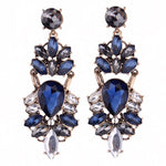 Earrings Eclat Blue, Accessories Earrings, Allure Accessoires - Cupidanza