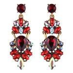Earrings Eclat Red, Accessories Earrings, Allure Accessoires - Cupidanza