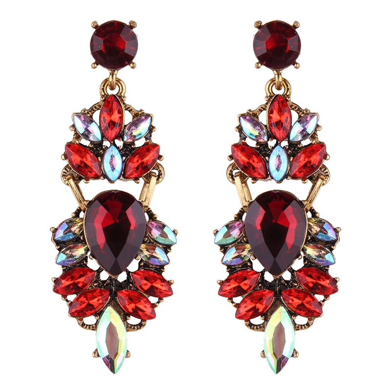 Allure Earrings Eclat Red - Allure Accessoires - Accessories Earrings