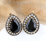 Earrings Elisabeth Black, Accessories Earrings, Allure Accessoires - Cupidanza
