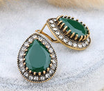 Earrings Elisabeth Green, Accessories Earrings, Allure Accessoires - Cupidanza