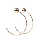 Earrings Nora Gold, Accessories Earrings, Allure Accessoires - Cupidanza