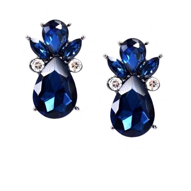 Allure Earrings Sienna Blue - Allure Accessoires - Accessories Earrings