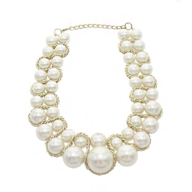 Allure Necklace Esther Pearl - Allure Accessoires - Accessories Necklaces