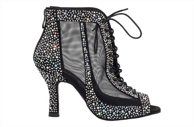 "Dancin Boots Special Edition ""Giada"" Black Crystal - Dancin - Dance Shoes"