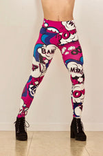 Mi Malla Leggings Pink Comic - Mi Malla - Leggings