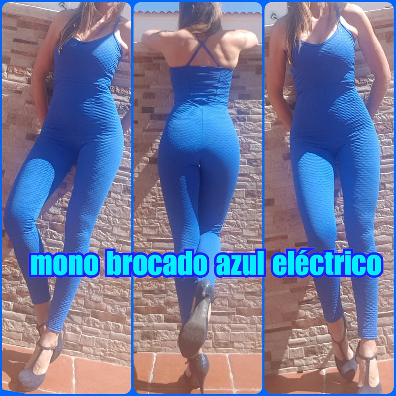 Mi Malla Pleat Jumpsuit Blue - Mi Malla - Jumpsuit