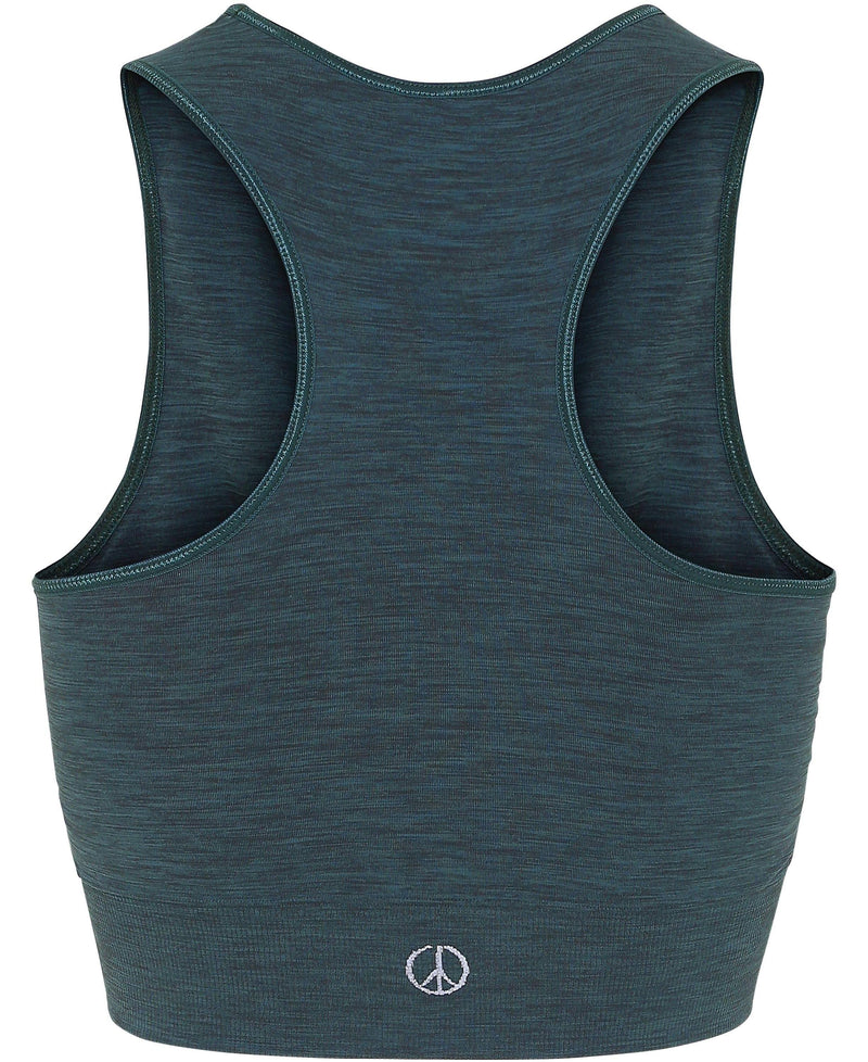 375578942f1d9 Moonchild Seamless Crop Top - Forest Green - Moonchild Yoga Wear