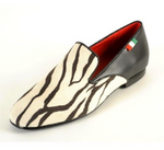 Gran Gala Zebra Black Leather - Gran Gala - Dance Shoes