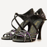 Manuel Reina Anita Competition Glamour Black - Manuel Reina - Dance Shoes