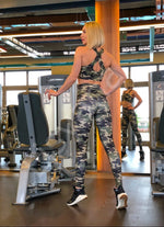 Lismina Extra High Waist Military Leggings - Lismina - Leggings
