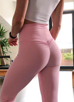 Lismina Scrunch Butt Pink Leggings