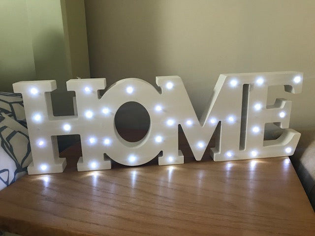 LED 'Home' Sign