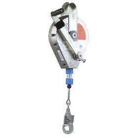 HRA - Fall Arrest Recovery Block - Aluminium Housing, Steel Cable Lifeline - The PPE Shop