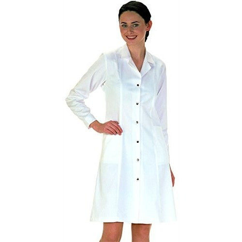 Workwear World Ladies Lab Work Doctors Medical White Coat - The PPE Shop