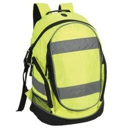 Shugon Hi Viz Rucksack - Hi-Vis Yellow - The PPE Shop
