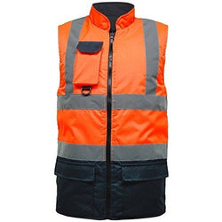 Hi Viz Vis Bodywarmer Fleece - The PPE Shop