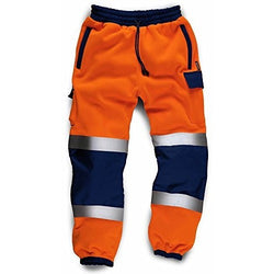 Mens High Visibility Jogging Bottoms - The PPE Shop
