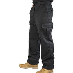 Mens Combat Cargo Work Trousers With KNEE PAD POCKETS - The PPE Shop