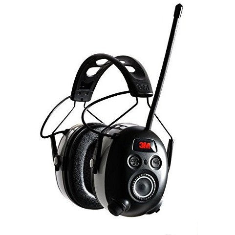 3M WorkTunes Wireless Hearing Protector with Bluetooth Technology and AM/FM Digital Radio - The PPE Shop