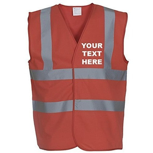 MYOG © Personalised Premium High Visibility Vest - The PPE Shop