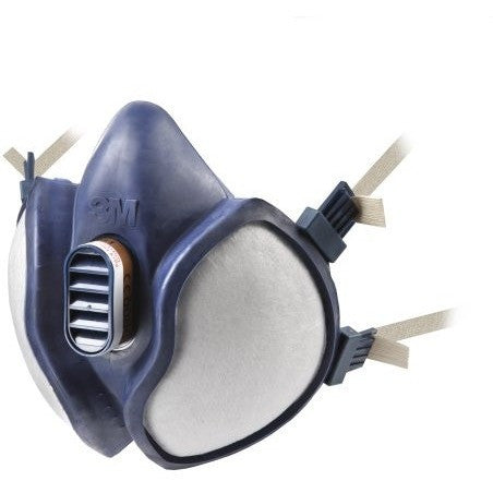 3M 4251 Maintenance Free Reusable Half Mask FFA1P2RD, Single Respirator - The PPE Shop