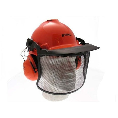 Genuine Stihl Birch Helmet Set with Ear Defenders and Anti-Dazzle Visor - The PPE Shop