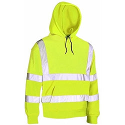 MyShoeStore® Hi Vis Viz Hooded Sweatshirt - The PPE Shop