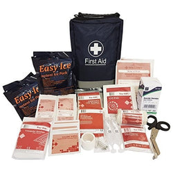 150 Pcs - Ultimate First Aid Kit Bag - CE Products - Inc. Eyewash, Ice Packs, Emergency Blanket - The PPE Shop