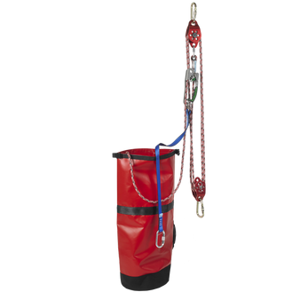 Pre-Rigged Rescue Pulley System with 1 Way Friction Bearing - The PPE Shop
