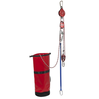 Pulley System with 2 Way Auto Locking Mechanism - The PPE Shop