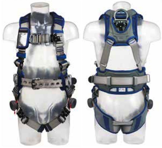 ExoFit STRATA Light Vest Style Harness with Belt - The PPE Shop