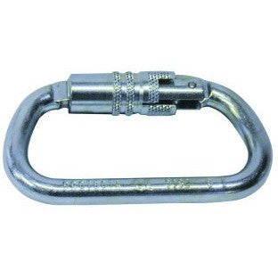Self Locking Stainless Carabiner 18mm gate - The PPE Shop