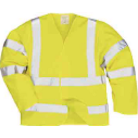 Hi-Viz Log Sleeve Vest - The PPE Shop