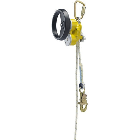 Descender with rescue hub. 50 m - The PPE Shop
