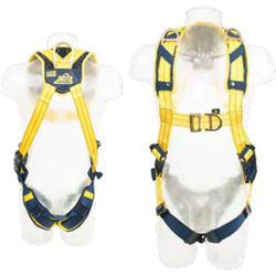 Front and rear attachment points. Adjustable shoulders and legs. Shoulder rescue attachment points. i-Safe equipped. No-tangle back pad. Pass through buckles - The PPE Shop