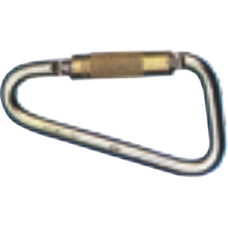 Steel ladder hook connector 33 mm opening. 45 kN breaking strength - The PPE Shop