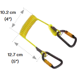 3M™ DBI-SALA® Hook2Hook Coil Tether - The PPE Shop