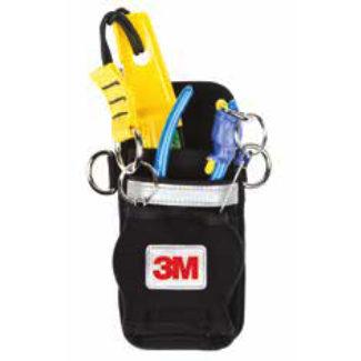 Dual Tool Holster with 2 x Retractors. Harness attachment. - The PPE Shop